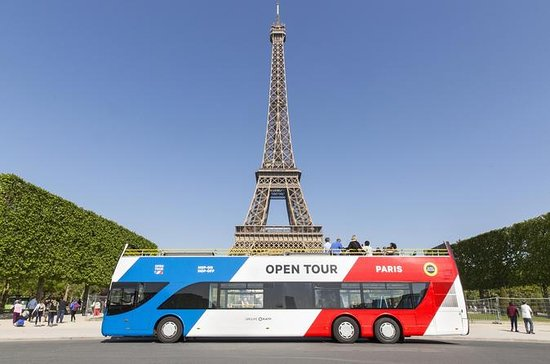 Tour aperto Hop-On Hop-Off di Parigi