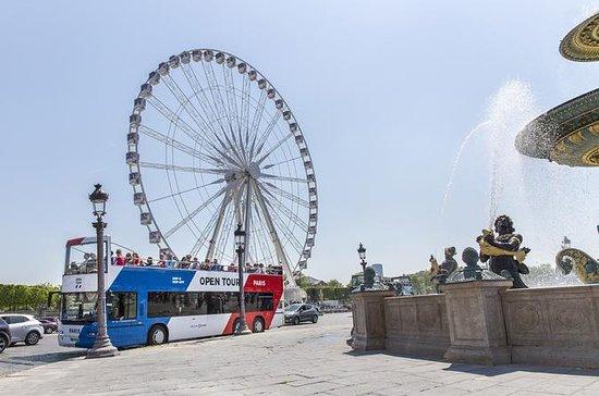 Hop-on op-off combo Parijs: bustour ...