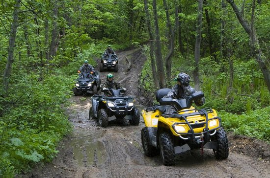 ATV tour to Zhigalan waterfalls