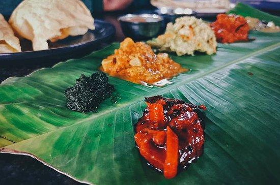 Mumbai Hidden Street spiser med tog