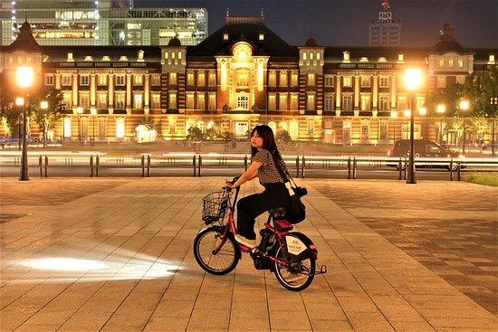 東京の街が新たな命を宿す夜のサイクリングツアー
