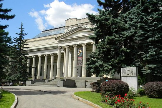 The Pushkin State Museum of Fine Arts...