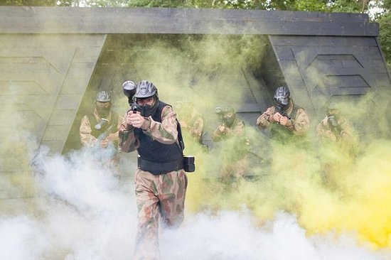 Full-Day Paintball Pass in Gerrards...