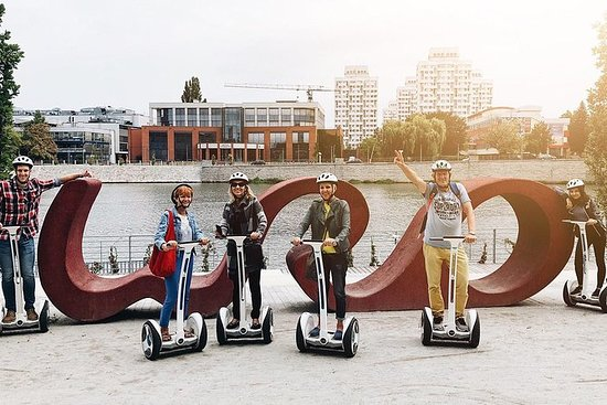 Privat Wroclaw guidad Segway Tour