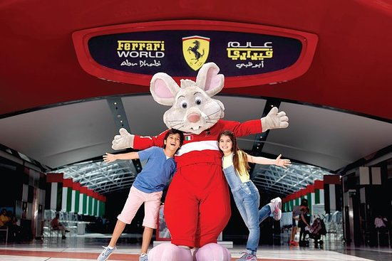 Entrance Ticket Ferrari World Abu...