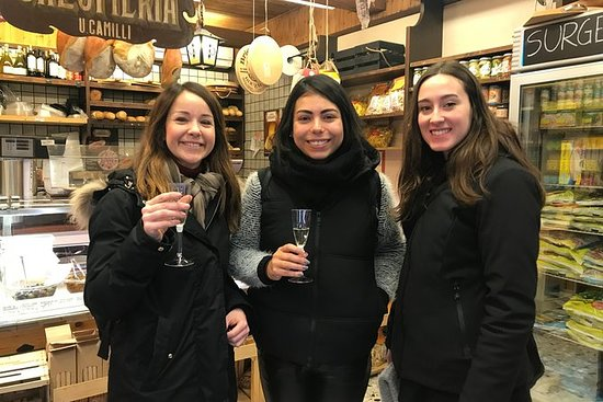 Winter food and wine walking tour...
