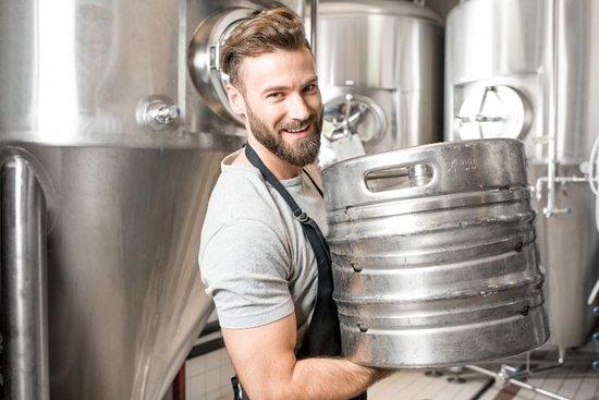 El tour de la cervecería en Rekyjavik