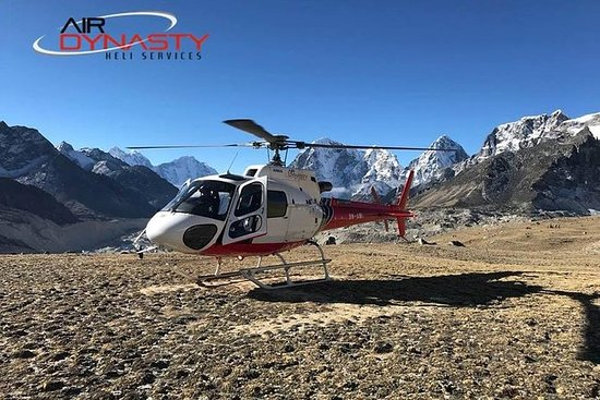 Excursão de Helicóptero do Everest...