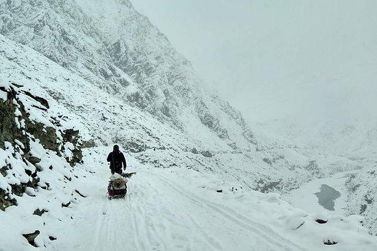 Chadar Frosna floden Trek - Zanskar ...