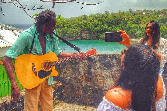 Vej til paradis i St Lucia (Privat...