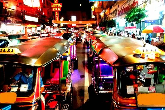 Bangkok Street Foods With TUK TUK