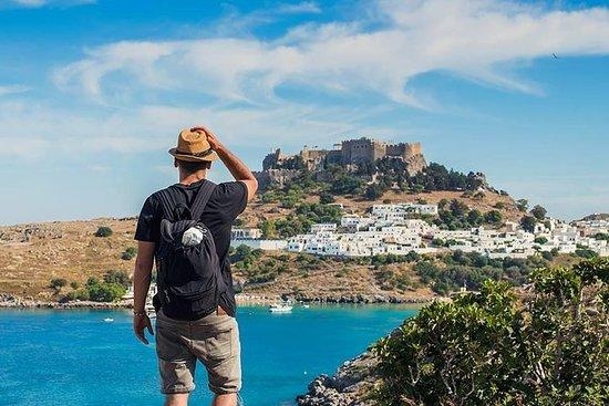Vandre rundt Rhodos i en 7 dagers tur!