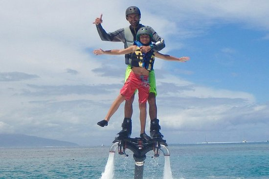 Flyboard y Hoverboard Moorea