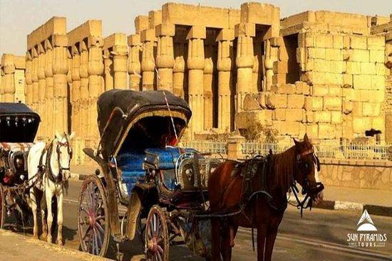 Tour della città di Luxor in carrozza