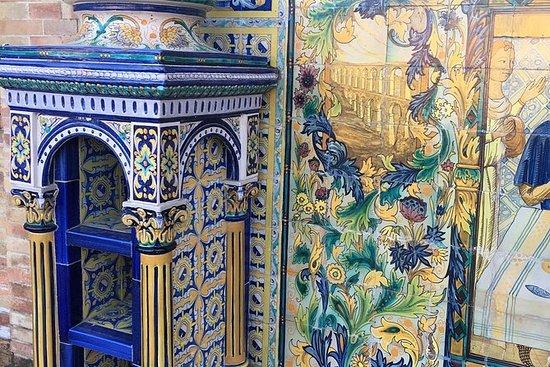 Céramique à Séville lors d'une visite...