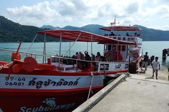 HTMS Chang naufragio buceo más dos...