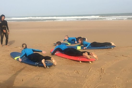 Curso de surf para principiantes...