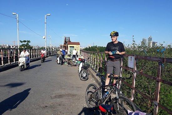 Viagem de bicicleta de fim de semana...