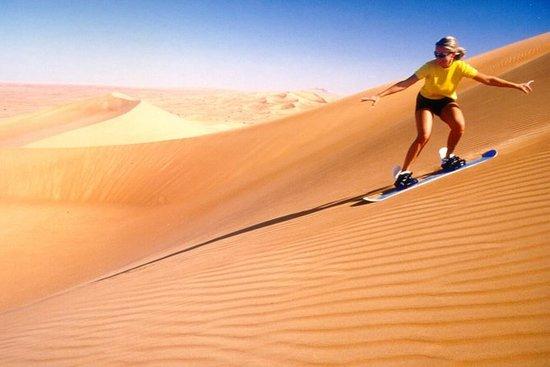 Tour du matin dans le désert de...