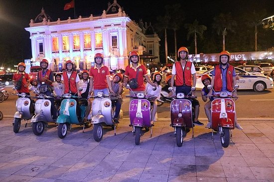 vespa night street food tour