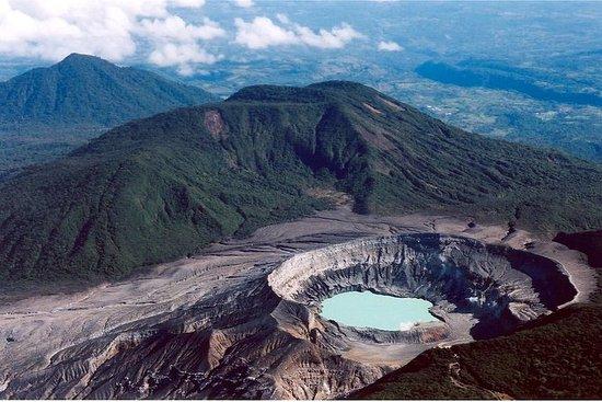 Poás火山とDokaコーヒーPlantación半日