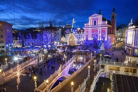 Visite de Ljubljana décorée de façon...
