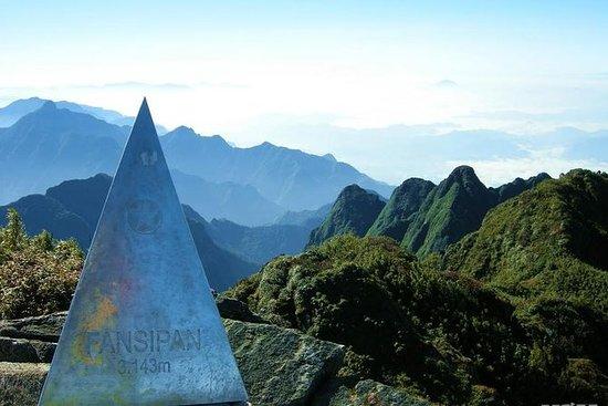 Klettern Mt Fansipan Sapa mit Hoang...
