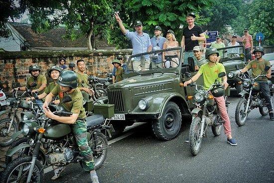 Día y ciudad de Hanoi de día completo...