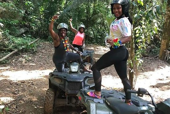 ATV, Zipline and Cave Tubing Tour...