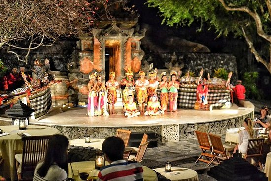 Grand Hyatt Bali: middagsshow Pasar...