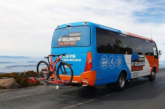 Hobart Hop-Hop Hop-Off Bus y kunanyi...