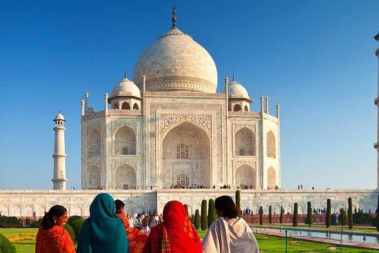 Dagstur till Taj Mahal