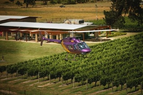 Home Hill Winery Helicopter Tour