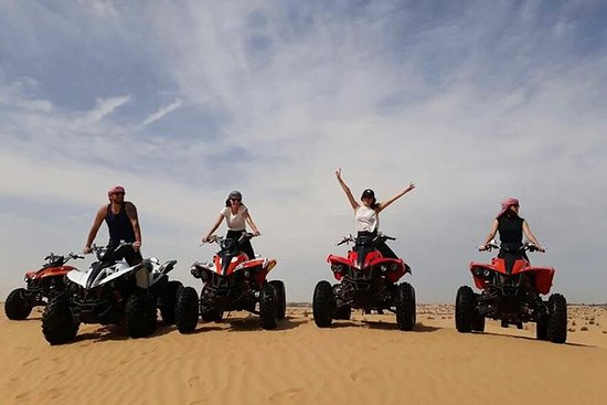 Dubai Morning Desert Safari med Quad...
