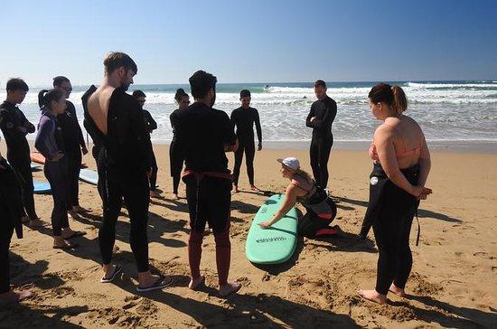 Nybegynner Lær å surfe eventyr