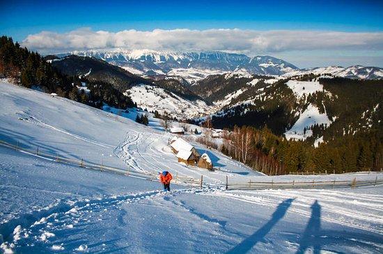 Schneeschuhwanderung bei Brasov