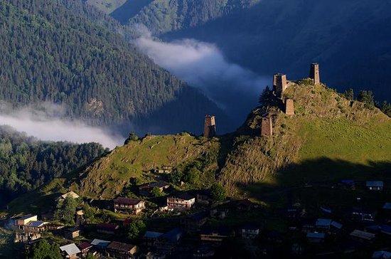 Trek Tusheti daler og fjell
