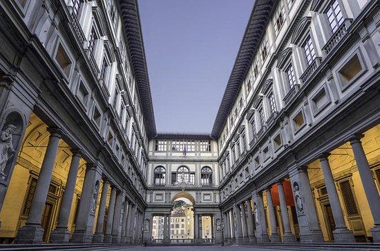 Uffizi Tour con mapa digital de la...