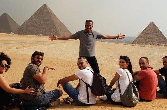 Eine ganztägige Reise zu den Pyramiden...