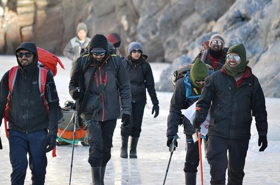 Chadar Frozen River Trek 2019