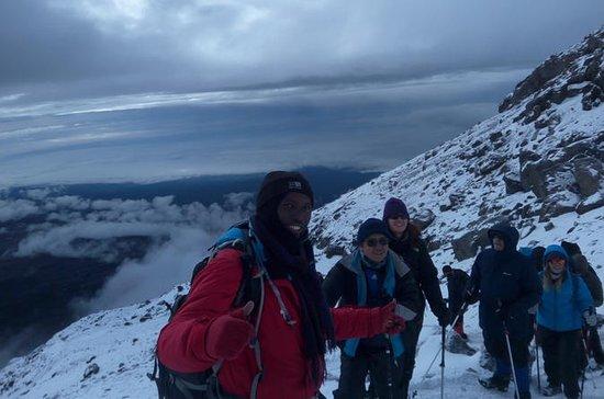 5 days Kilimanjaro climb via Marangu...