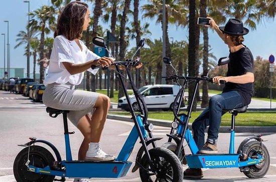 GPS Guided Gaudí eScooter Tour