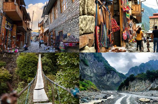 Excursão Ismayilli e Lahij