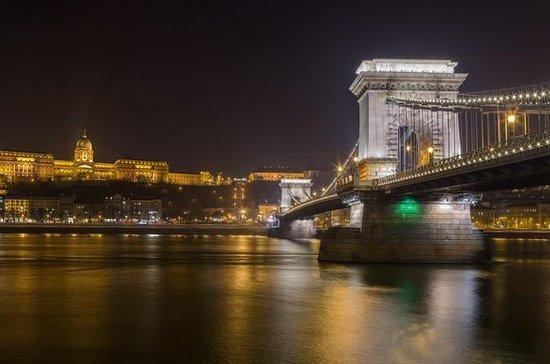 Soirée à Budapest près des rives du...