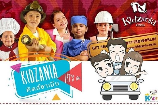 KidZania Bangkok Admission Ticket