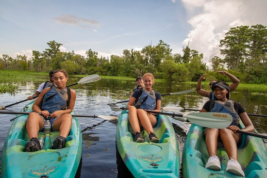 A New Orleans Kayak Tour