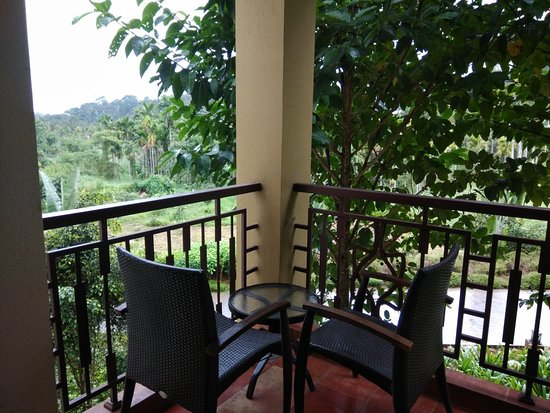 Balcony - Club Mahindra Virajpet, Coorg Photo