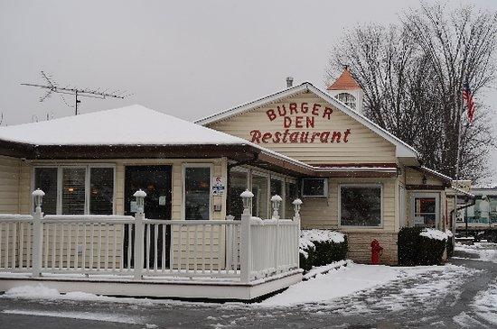 Cambridge, Νέα Υόρκη: Exterior of restaurant.