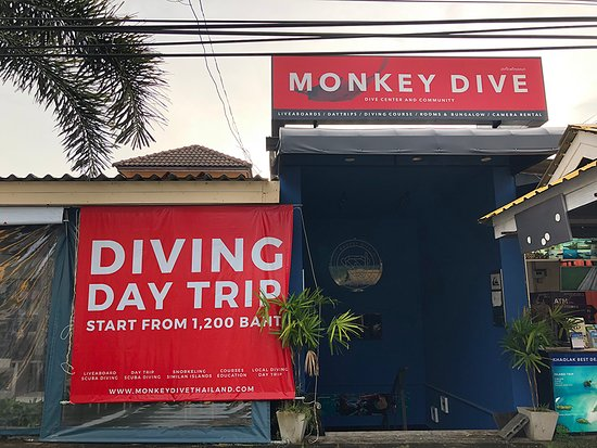 Monkey Dive Thailand