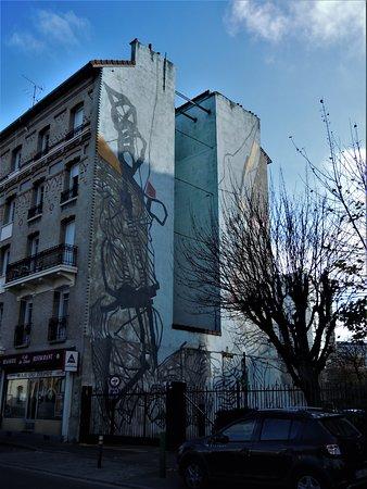 Fresque Ivry-sur-Seine